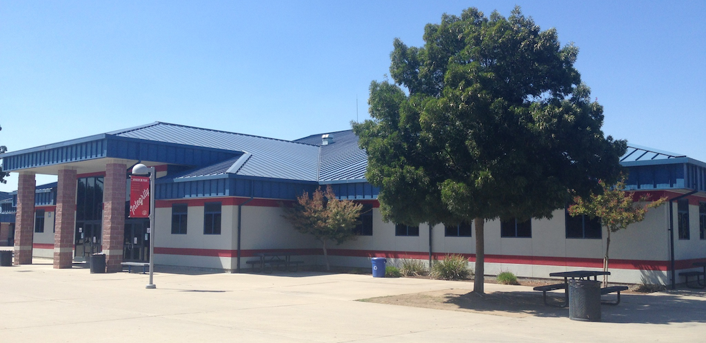 picture of sanger high library