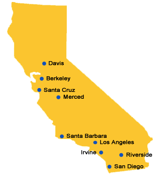 Universities And Colleges In California Map.State Colleges Information
