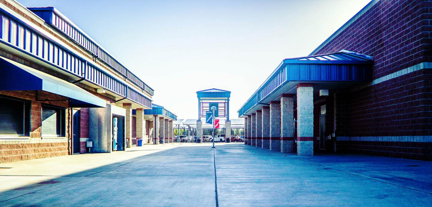 photo of shs courtyard